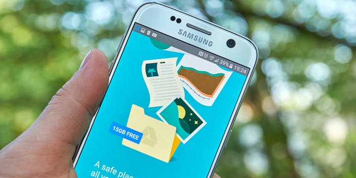 google cloud storage drive smartphone android