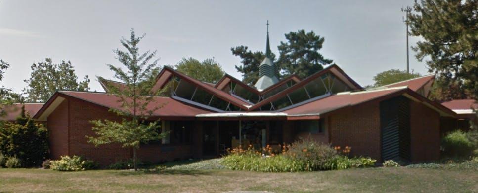 St. John's Lutheran Church in Midland, Michigan.