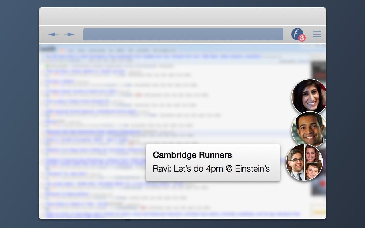 Facebook chat heads desktop
