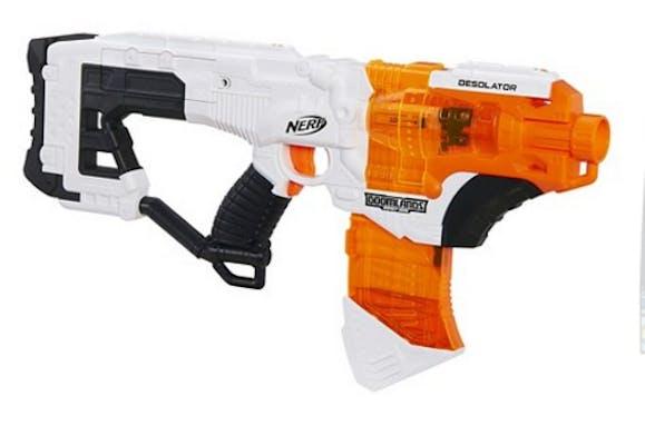 best nerf guns: Nerf Doomlands Desolator Blaster