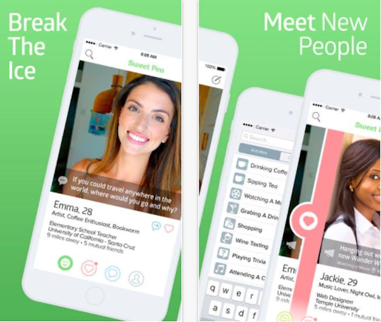 hookup apps : sweet pea app