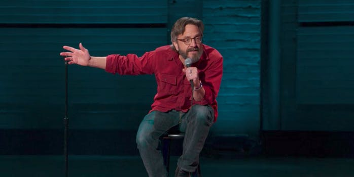 netflix standup special : Marc Maron Too Real