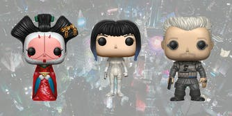 Funko POP Ghost in the Shell figures