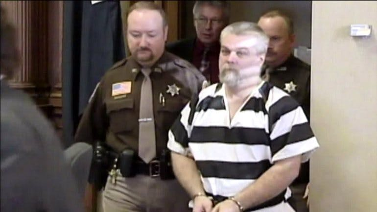 Steven Avery was arrested and convicted of the murder of photographer Teresa Halbach.