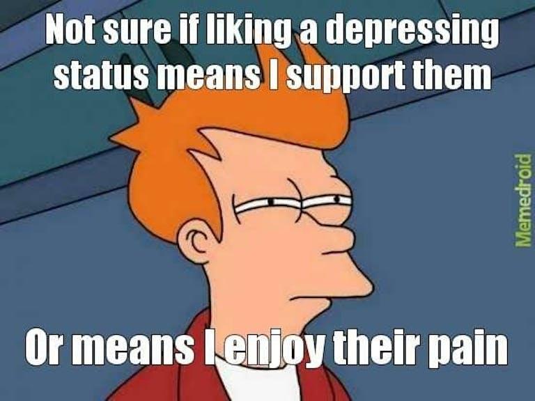futurama memes : not sure if mental health