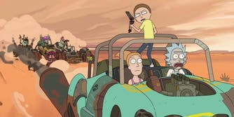 rick and morty mad max