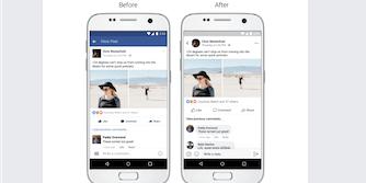 facebook app redesign news feed