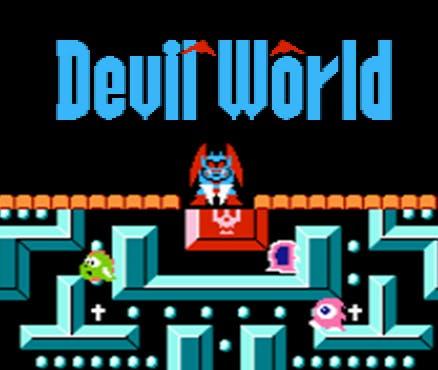 Nintendo NES facts: Devil World