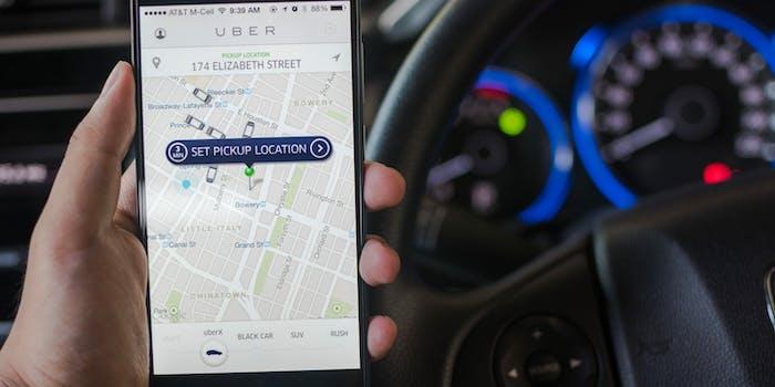 uber app ride hailing