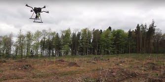 drones planting trees