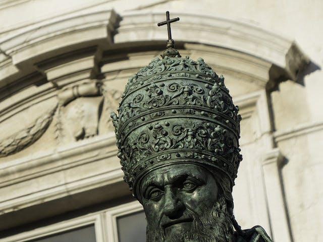 Religious people have long been known for their eccentric choices in headwear.