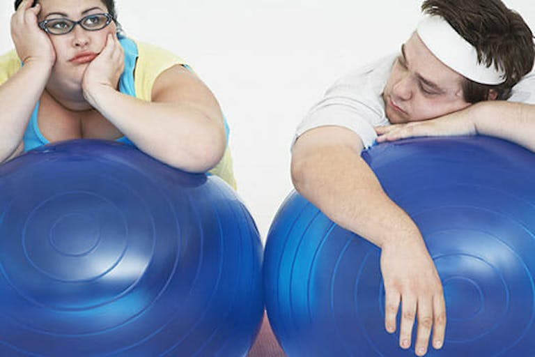out of shape couple