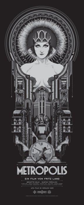 Metropolis by Ken Taylor, Mondo.