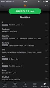 spotify playlist spells I want to die