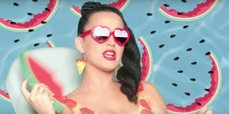Katy Perry is being slammed on the internet for her bad Obama joke