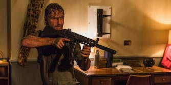 rick grimes the walking dead the damned