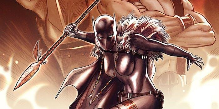 This 'Black Panther' Comic Saw Shuri Take charge of Wakanda