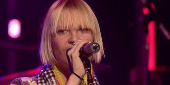 Sia singing at SXSW