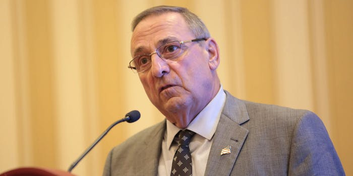 The ACLU in Maine is suing Gov. Paul LePage