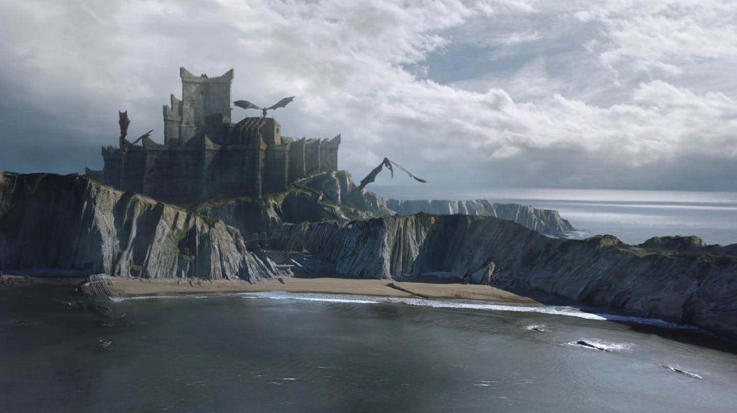 dragonstone game of thrones - dance of the dragons