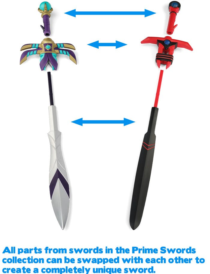 Prime Swords Kickstarter purple