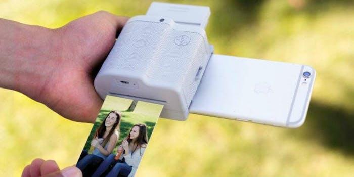 instant printer ar video clips