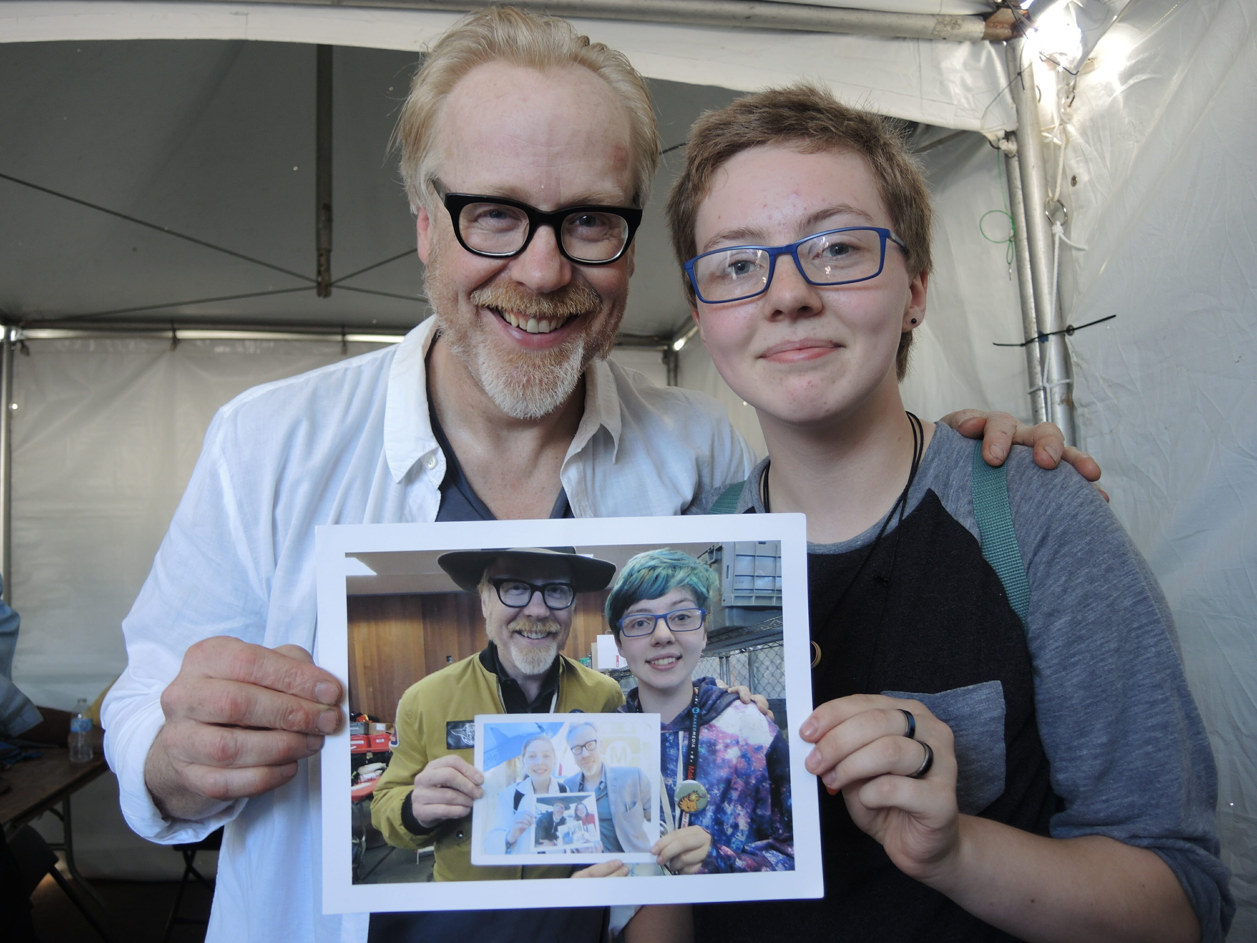 mythbusters fan inception photo