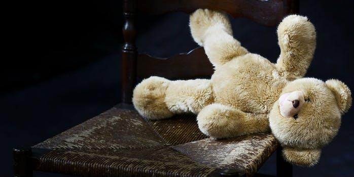 teddy bear chair