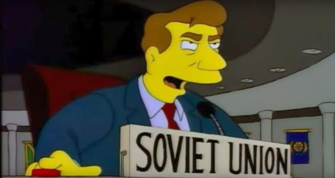 russia ukraine twitter the simpsons