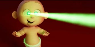 The 'Incredibles 2' is here and Jack Jack has powers.