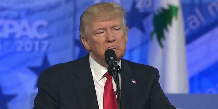 Donald Trump at CPAC 2017