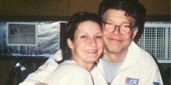 Army veteran Stephanie Kemplin says Sen. Al Franken groped her in 2003.