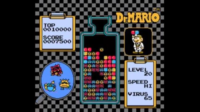 nes games: Dr. Mario