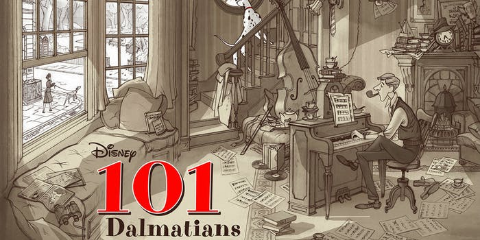 101 Dalmatians by Jonathan Burton