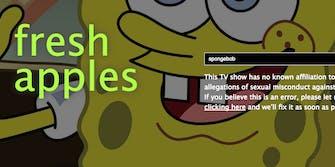 Spongebob's Rotten Apples score.