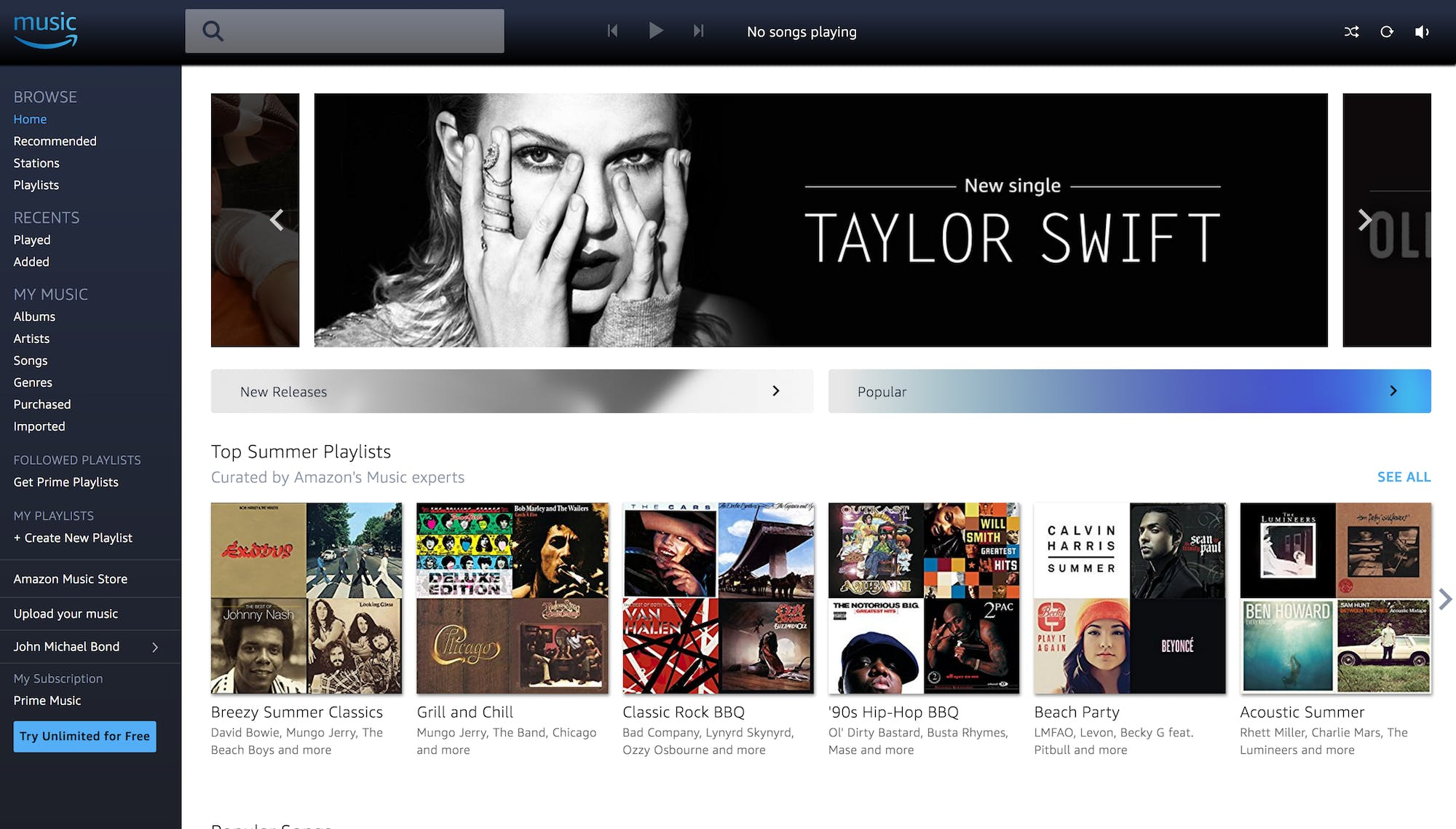 music streaming : Spotify vs Amazon Music Unlimited