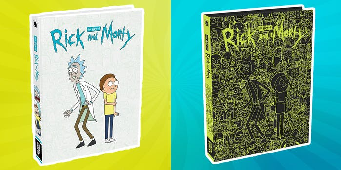 rick and morty artbook