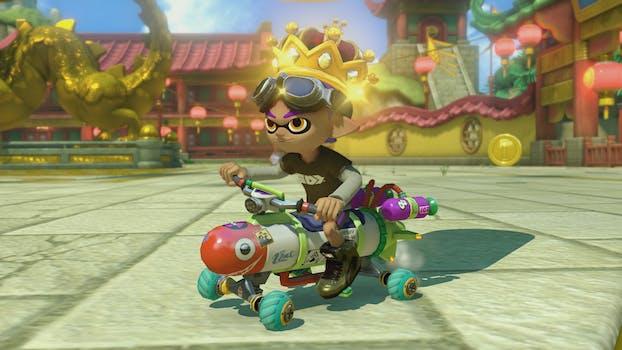 Mario Kart 8 Deluxe Battle Mode