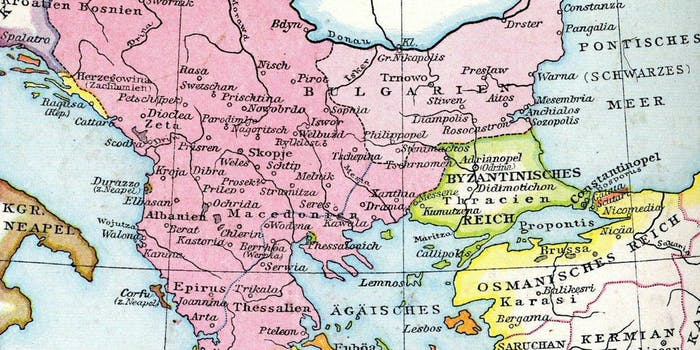 Serbian Empire 1350