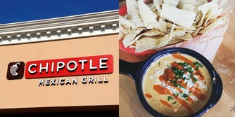 Chipotle Restaurant and Queso