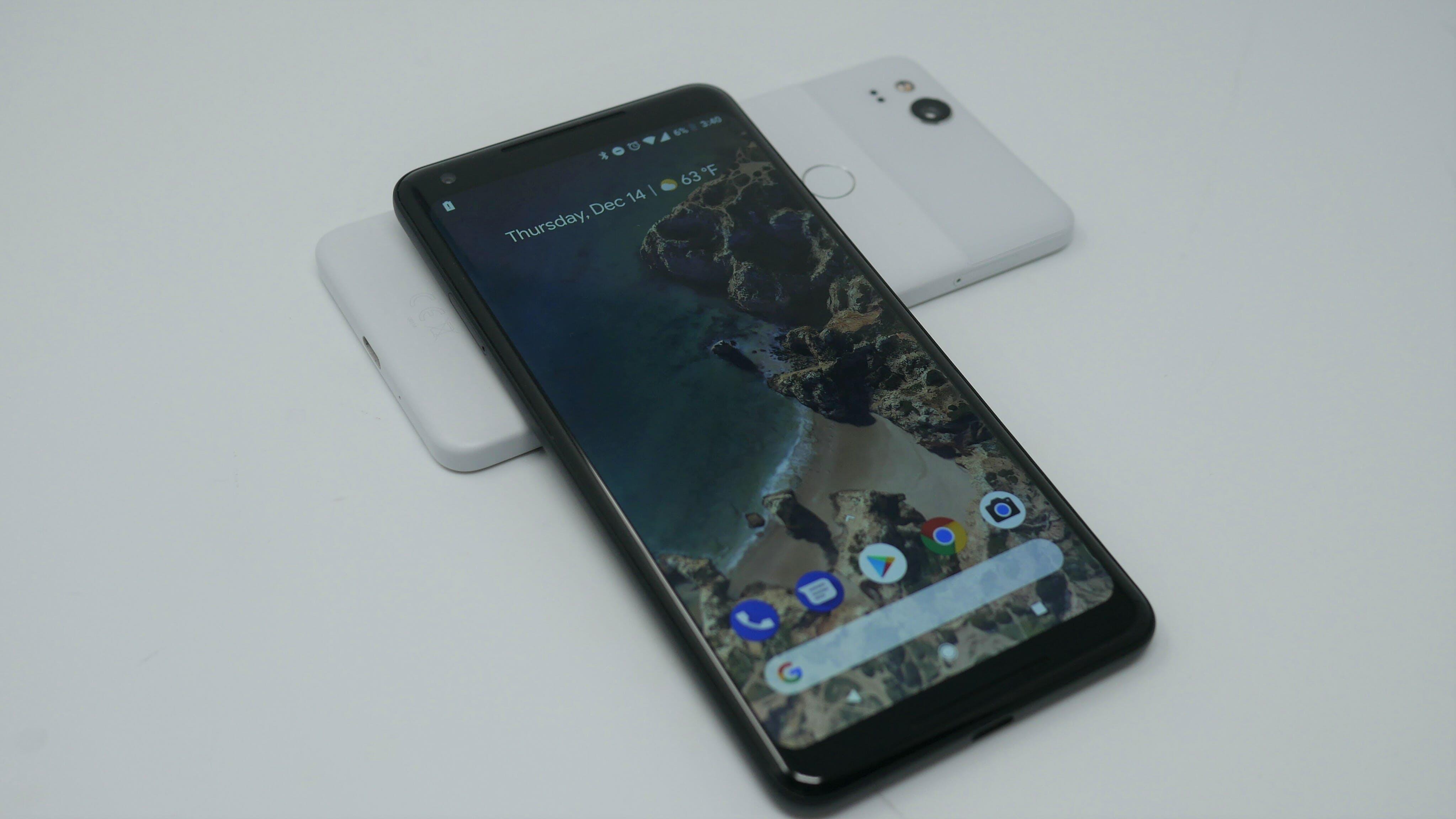 Project FI phones : google pixel 2 and pixel 2 xl smartphones