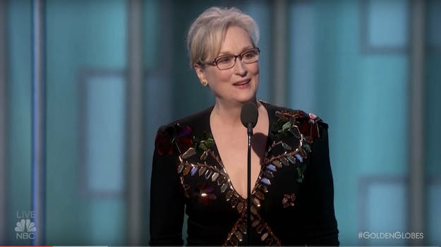 In an open letter, Meryl Streep responded to Rose McGowan's critical tweet thread.