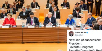 President Donald Trump at the G20 Summit