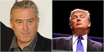 Robert De Niro Trump racist