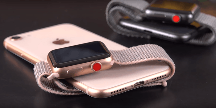 apple watch 3 iphone 8 plus