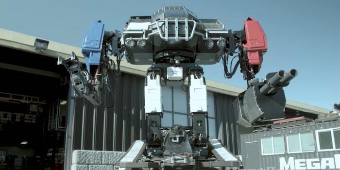 megabots eagle prime robot