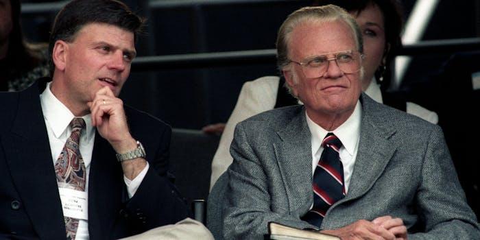 Billy Graham passed away on Wednesday, Feb. 21.