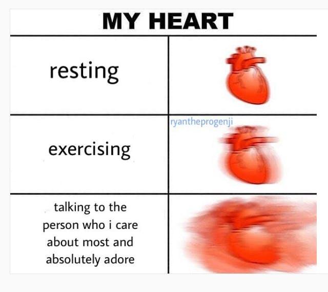 expanding heart meme