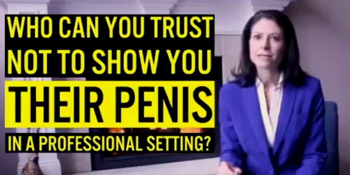 Michigan Attorney General candidate Dana Nessel drags male politicians who have sexually harassed women in her political ad.