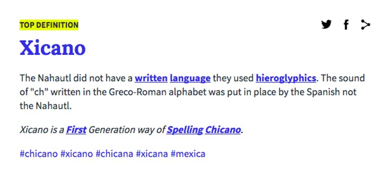 what is xicana